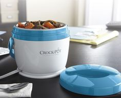 Do you have delicious leftovers from your latest slow cooked dinner? Take them with you to work with the Crock-Pot® Lunch Crock® Warmer! #CrockPot #LunchCrock #SlowCooker