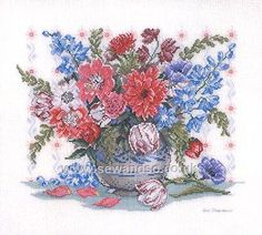 Buy Red, White and Blue Cross Stitch Kit online at sewandso.co.uk