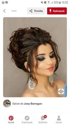 31 brilliant half up half down wedding hairstyles for 2019 15 Elegant Wedding Hair, Wedding Hair Down, Wedding Hair And Makeup, Hair Makeup, Elegant Hairstyles, Bride Hairstyles, Cool Hairstyles, Beautiful Hairstyles, Medium Hair Styles