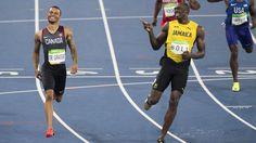LOOK: Usain Bolt, De Grasse exchange smiles mid-race; Gatlin blows ...