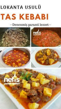 Tas Kebabı (Lokanta Usulü) Tarifi nasıl yapılır? #taskebabı #kebap #yemektarifleri #anayemek