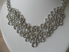 Bridal Chainmaille Necklace by JulasChainmaille on Etsy, £60.00