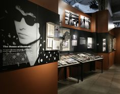 "Exhibiton, ""Bob Dylan's American Journey, 1956-1966""  Wonder Mine, Seattle, Washington, 2004"