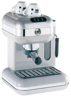 la Pavoni PW-16 Espresso/Cappuccino Machine, Metallic Pearl | Best price for your next coffee maker and espresso coffee machine