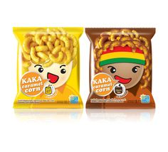 KAKA Caramel Corn | Packaging of the World: Creative Package Design Archive and Gallery