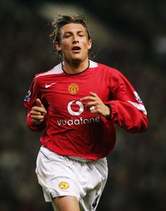 Gabriel Heinze, Manchester United Player of the Year 2004/05.