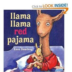 Llama Llama has the same flow as an Edgar Allen Poe poem, but the sweet stories of a little llama and his mama... I so have to check this out to see if it is real!