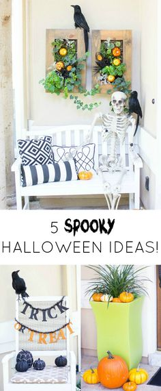 5 Steps to a Spooky Halloween Front Porch! | Design Improvised