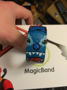 Has anyone decorated their Magic Bands? Please show us the pictures! - Page 19 - The DIS Discussion Forums - DISboards.com