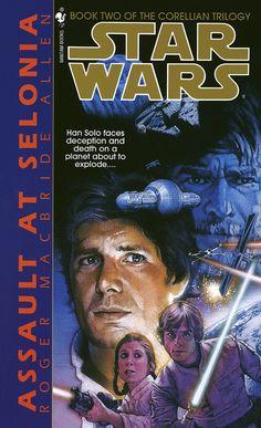Star Wars Assault At Selonia - Roger MacBride Allen - Book 2 Corellian Trilogy Star Wars Novels, Star Wars Books, Star Wars Episode Iv, What Is The Secret, War Comics, Thing 1, Reading Rainbow, Audio Books, Science Fiction