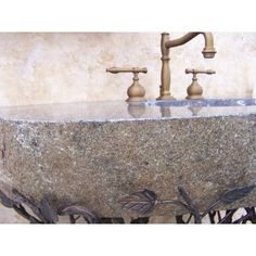 """Quiescence Organic Suites Embracious Aspen Forest Iron Pedestal Bathroom Sink Sink Finish: Brown, Sink Size: 33""""- 40"""""""