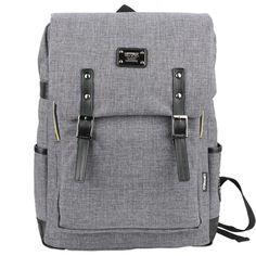 Canvas Backpack Men Best Laptop Backpacks College Bags LEFTFIELD 088   chanchanbag.com   Design makes you feel satisfied Stylish Canvas Backpack Men.