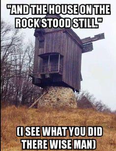 House on the Rock stood still