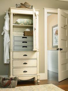 Paula Deen\'s Cobblestone Finish Door Nightstand - Grand Home ...