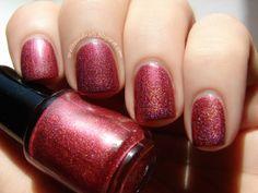 Smeared Lipstick - Custom Holographic Nail Polish