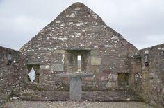 Grace O'Malley's Church; Achille Island, County Mayo