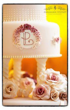 Pretty pink cake  #weddingcakes
