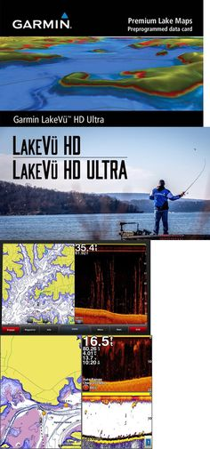 Charts and Maps 179987: Us Lakevu Hd Ultra Premium Lake Map (Lus100f 010-C1110-00) For Garmin Marine Gps -> BUY IT NOW ONLY: $87.99 on eBay!