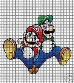 Mario Brothers Crochet Pattern