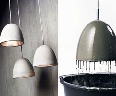 Des idées d'objets en béton et des tutoriels DIY pour concevoir moules, motifs et empreintes...