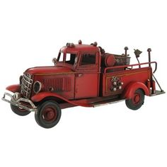 Metal Fire Truck - Meghan loved this when we saw it Saturday -- had to order this for the nursery.