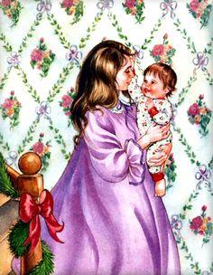 Baby's Christmas ~ Eloise Wilkin @@@@.....http://www.pinterest.com/reen79/art-i-wish-i-owned/