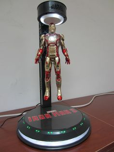Marvel Brings an Armory Worth of Iron Man 3 Tie-In Products Avengers Superheroes, Marvel Avengers, Marvel Comics, We All Mad Here, Marvel Room, Deco Cool, 3d Light, Iron Man 3, Game Room Design
