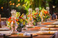 Casamento rústico-chique: decoração da mesa
