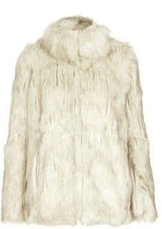 Faux Tipped Fur Jacket on shopstyle.com