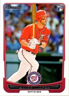 11/28/2016 -- 2012 Bowman Draft Baseball #10 Bryce Harper Rookie now on Amazon!
