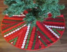 Marimekko tree skirt to add the final touch to your Holiday decor. https://www.etsy.com/listing/172168157/marimekko-tree-skirt-choose-your