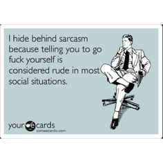 I just might say this soon enough to certain people.  LOL!!