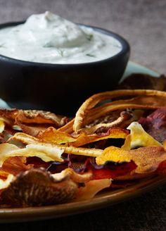 yogurt horseradish dill dip