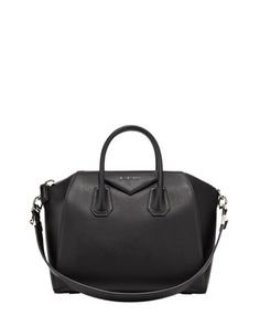 Antigona Satchel Bag, Medium by Givenchy at Bergdorf Goodman.