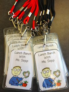 I do lunch bunches but my passes need updating...love these!