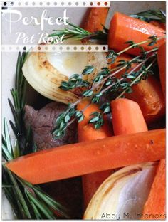 Abby M. Interiors: entertaining + football + family.  Pioneer Woman's perfect pot roast.  By far the best recipe I've tried and it makes your house smell amazing.
