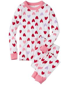 Kids Long John Pajamas In Organic Cotton from #HannaAndersson.
