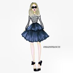 86 Best Illustrations By Mads Francis Images Fashion