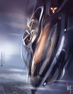 Concept spaceships by Liviu Tudoran #5