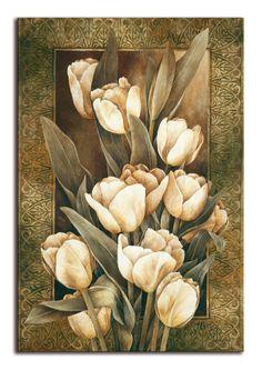 8279 / Cuadro Golden Tulips