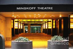 Minskoff Theatre in Broadway, New York City