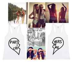 """Best Friends/ Partners in Crime"" by nothingtowear-2013 ❤ liked on Polyvore featuring Urban Outfitters"