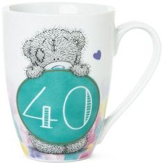 This cute Me to You Birthday Mug will make a much loved keepsake gift to celebrate this special birthday. Order your Tatty Teddy mug online or by telephone for fast UK delivery.