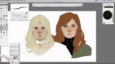 This is video footage of Phil Noto drawing Emma Frost, Jean Grey and Scott Summers using SketchBook Pro during New York Comic Con 2011. See Phil Noto create ...