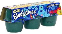 Blue's Clues applesauce. My sister ate this, I'm weird about applesauce.