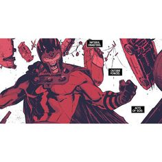 Magneto #8 ❤ liked on Polyvore featuring comic
