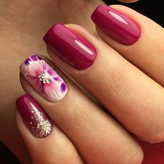 "651 Me gusta, 1 comentarios - Маникюр. Дизайн ногтей. МК (@ru_nails_master) en Instagram: ""Мастер @zakharova_nails г. Пермь Нравится работа? Ставь  #ru_nails_master #дизайнногтей…"""