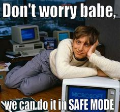 "Safe mode - Wow...what a story...""suspicious activity"" ...it sounds VERY BAD and let me tell you..to get back in and pin....another story."