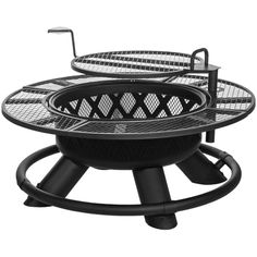 Grab an outdoor fire pit to add warmth and ambiance to your backyard, deck, or patio seating area. Shop a variety of fire pit sizes and styles at Academy. Diy Fire Pit, Fire Pit Backyard, Fire Pits, Fire Pit Bbq, Fire Pit With Grill, Gazebo, Fire Pit Landscaping, Fire Pit Materials, Fire Pit Furniture