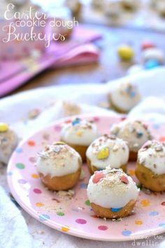 Easter Cookie Dough Buckeyes | Lemon Tree Dwelling